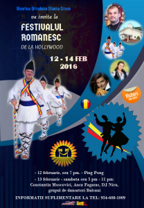festivalul romanesc organizat de biserica sfanta cruce