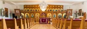 interior biserica sfanta cruce