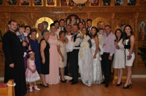 nunta la biserica sfanta cruce